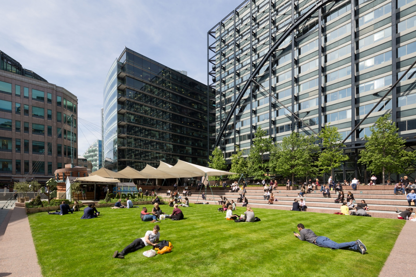 Produce UK launches Shaped by Design at Broadgate
